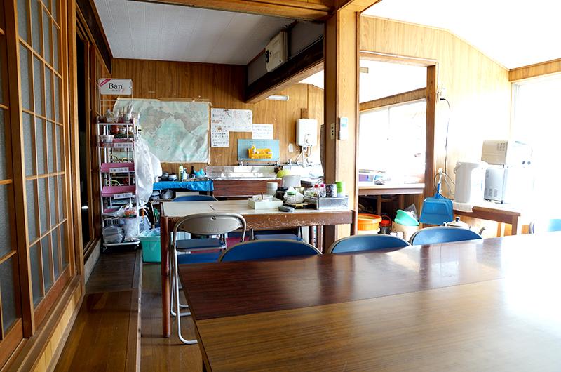 太江寺の食堂